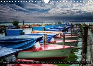 Zwischenahn Lake / UK-Version (Wall Calendar 2015 DIN A4 Landsca