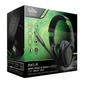 Gioteck AX-1 Stereo Chat/Gaming Headset (XB360)