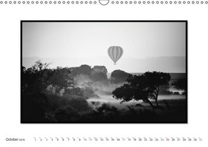 Emotional Moments: Black & White Fineart - the Maasai Mara. UK-V
