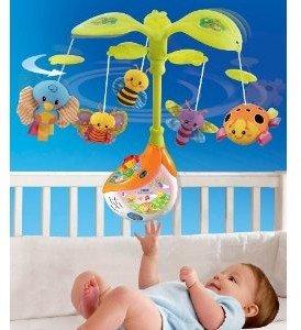 VTech Baby 80-101704 - Zauberlicht Mobile