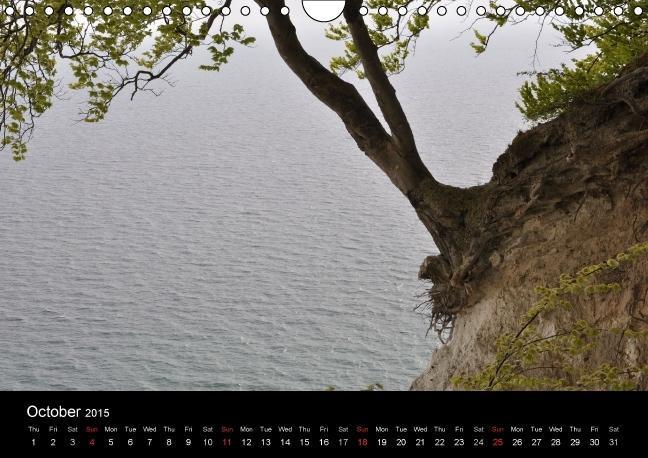 Mons Cliffs (Wall Calendar 2015 DIN A4 Landscape) - zum Schließen ins Bild klicken