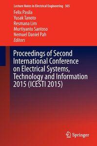 Proceedings of Second International Conference on Electrical Sys