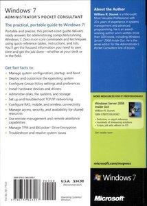 Windows® 7 Administrator's Pocket Consultant