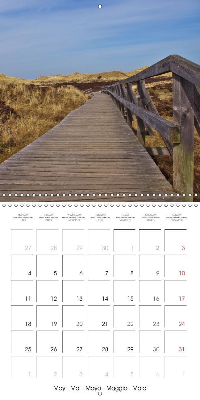 Amrum - Pearl of the North Sea (Wall Calendar 2015 300 × 300 mm - zum Schließen ins Bild klicken