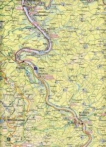 Fahrradkarte Landkreis Rhein-Hunsrück. 1 : 75.000
