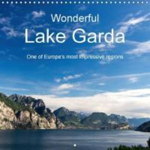 Wonderful Lake Garda (Wall Calendar 2015 300 × 300 mm Square)