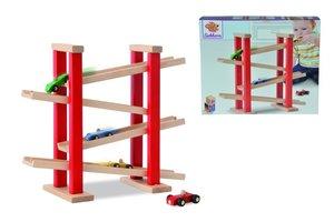 Heros 100027332 - Holz Auto-Rennbahn