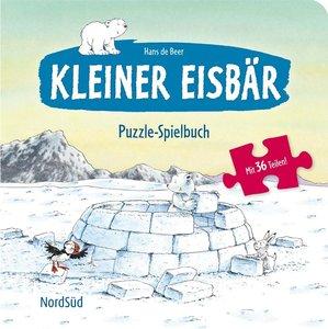 Kleiner Eisbär Puzzle-Spielbuch