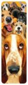 REAL-D Bookmark - Hunde