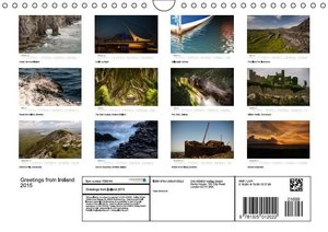 Greetings from IRELAND 2015 (Wall Calendar 2015 DIN A4 Landscape