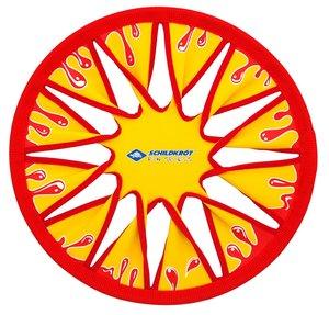 Schildkröt 970124 - Disc Frisbee, gelb/rot, 30 cm