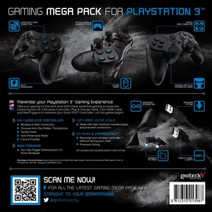 Gaming Mega Pack (VX-1 Controller, HDMI-Kabel, Play&Charge kabel