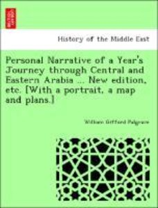 Personal Narrative of a Year's Journey through Central and Easte