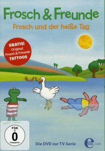 (4)DVD z.TV-Serie-Frosch und der heiße Tag