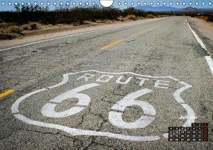 Die USA und ihre großen Straßen (Wandkalender 2016 DIN A4 quer)