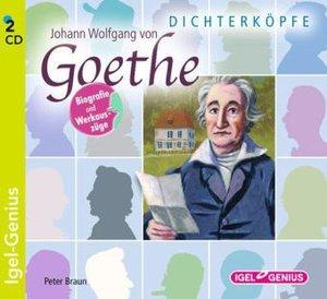 Dichterköpfe - Johann Wolfgang von Goethe
