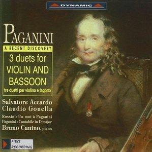 3 Duette f.Violine u.Fagott