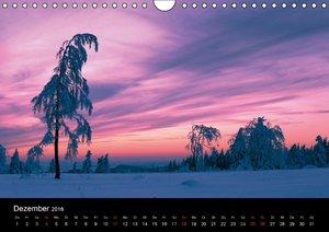 Wintermärchen von Dora Pi (Wandkalender 2016 DIN A4 quer)