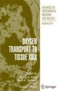 Oxygen Transport to Tissue XXIX