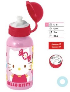 p:os 68752 - Hello Kitty: Alu-Trinkflasche