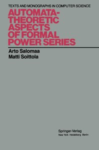 Automata-Theoretic Aspects of Formal Power Series