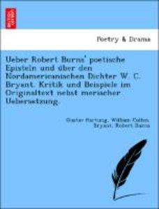 Ueber Robert Burns' poetische Episteln und u¨ber den Nordamerica