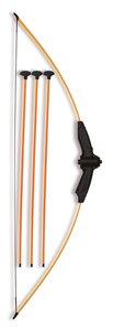 BestSaller 41631 - Bogen, orange, 88 cm