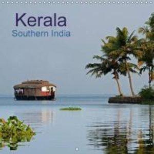 Kerala Southern India (Wall Calendar 2015 300 × 300 mm Square)