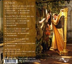Bach Sonatas for violin & harp