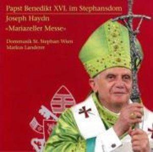 Papst Benedikt XVI.Im Stephansdom