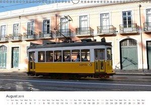 Lisbon. Inspiring City. 2015 (Wall Calendar 2015 DIN A3 Landscap