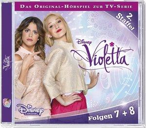 Disney - Violetta. Staffel 2 - Folge 07 + 08