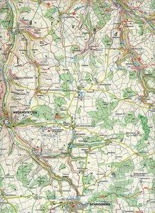Taubertal - Hohenloher Ebene 1 : 50 000