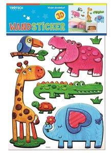 Wand- & Dekosticker im Holzdesign