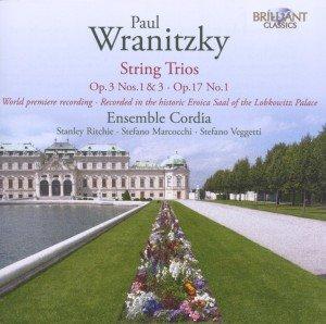 Wranitzky: String Trio op.17,No 1; op.3 1 & 3
