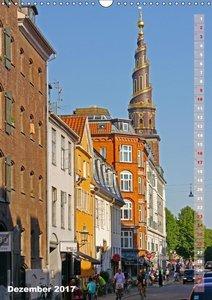 Kopenhagen. Skandinavische Schöne (Wandkalender 2017 DIN A3 hoch