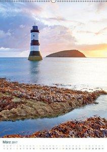 Leuchtturm: Lichtblick an der Küste (Wandkalender 2017 DIN A2 ho