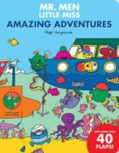 Mr. Men Amazing Adventures Flap Book