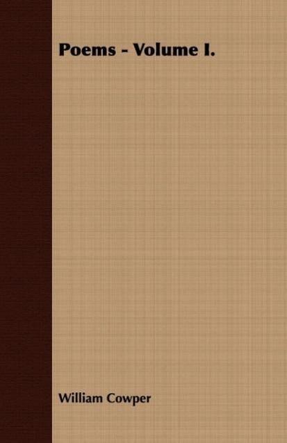 Poems - Volume I. - zum Schließen ins Bild klicken