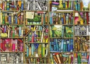 Ravensburger 19137 - Magisches Bücherregal, 1000 Teile Puzzle