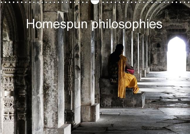 Homespun philosophies (Wall Calendar 2015 DIN A3 Landscape) - zum Schließen ins Bild klicken