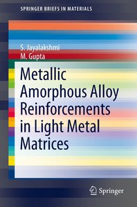 Metallic Amorphous Alloy Reinforcements in Light Metal Matrices