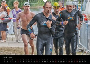 Fascination Triathlon (Wandkalender 2016 DIN A3 quer)