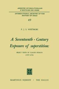 A Seventeenth-Century Exposure of Superstition