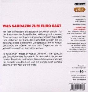 Europa Braucht Den Euro Nicht (MP3)