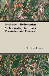 Mechanics - Hydrostatics