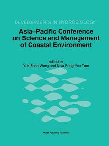 Asia-Pacific Conference on Science and Management of Coastal Env
