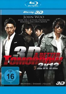 A Better Tomorrow 2K12-Real 3D-Blu-ray Disc