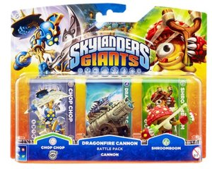 Skylanders: Giants Cannon Pack (Chop Chop, Dragonfire Cannon, Sh