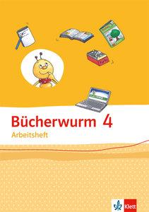 Bücherwurm Sprachbuch. Arbeitsheft 4. Schuljahr
